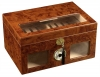CIGAR HUMIDOR w/ CLEAR TOP AND FRONT VIEW - 120ct