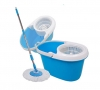 360 Easy Clean Rotating Spin Magic Hurricane Mop Micro Fiber Head Bucket Blue Wider